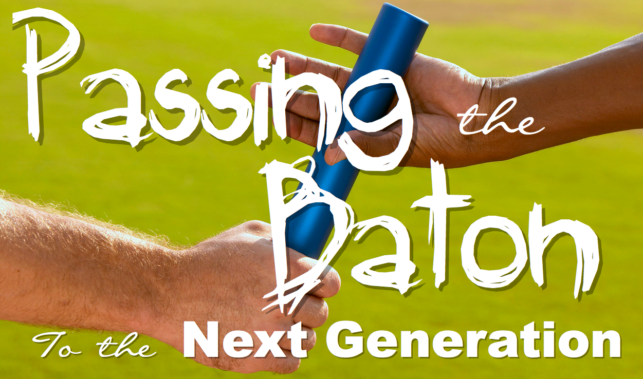 Passing the Baton Kingdom Christian