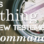 Is Tithing a New Testament Command
