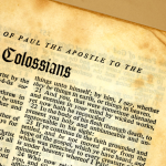 Properly Interpreting scripture, the book of colossians, and the atonement by David Bercot